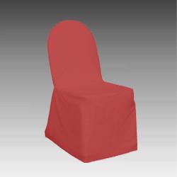 hussenstuhl comfort wei rot champagner mieten qualyx gmbh. Black Bedroom Furniture Sets. Home Design Ideas