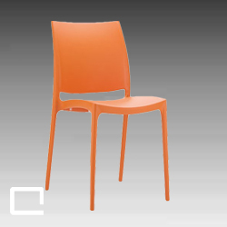 DesignStuhl FRIESO orange