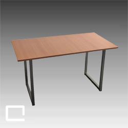 schreibtisch office 70 x 120 mieten qualyx gmbh. Black Bedroom Furniture Sets. Home Design Ideas