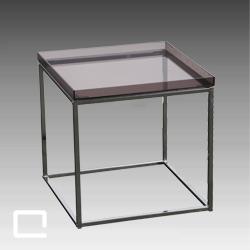Beistelltisch cube 43 x 43 mieten qualyx gmbh for Beistelltisch cube