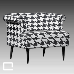 Sessel HOUNDSTOOTH