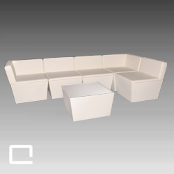 Loungegruppe CONIC L- Bank